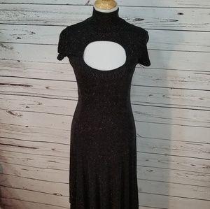 Betsey Johnson | Keyhole Dress | Brown Dress